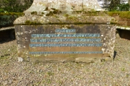 Hogg Memorial inscription