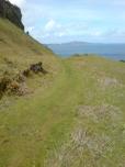 Raasay path to Hallaig