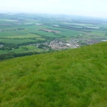 May 2014 Falkland from East Lomond