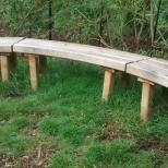 Sep 2014 Labyrinth bench