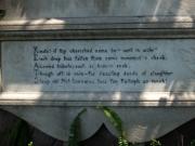 Keats 05 Cimitero Acattolico memorial 02