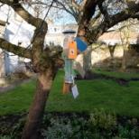 Birdfeeder StAnza Byre garden