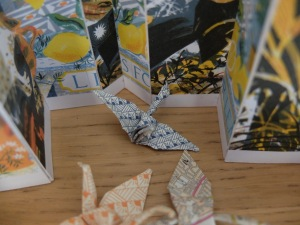 Stewart origami bird